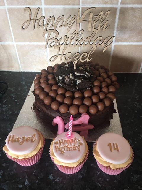 14th cake topper