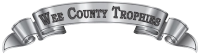 Wee county Trophies Logo