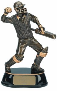 Cricket Player Trophy - Wee County Trophies