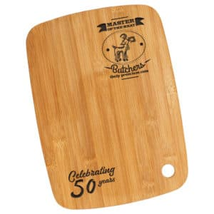 Personalised Cutting board gift - Wee County Trophies