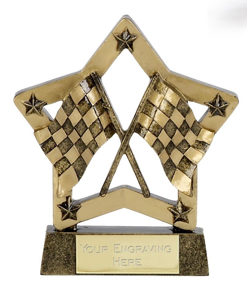 Finish Flag Star Trophy