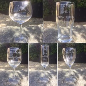 Personalised Drink Glasses web