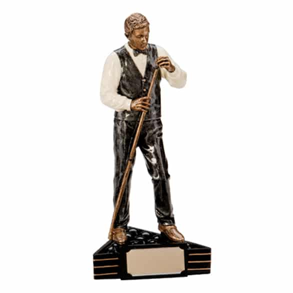 Snooker Player Trophy - Wee County Trophies