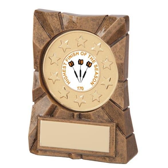 Personalised Darts Award - Wee County Trophies