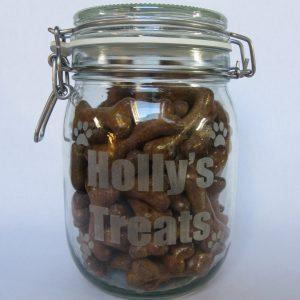 Personalised Treat Jar - Pet Treat Jar