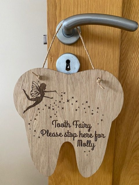 Tooth Fairy Stop Sign 2
