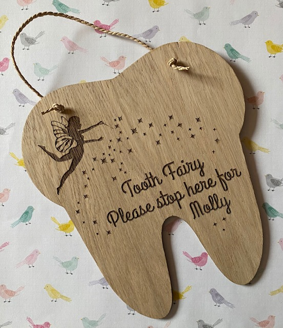 Tooth Fairy Stop Sign