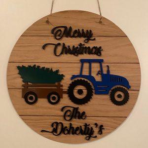 Christmas Tractor 1