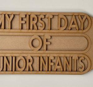 1st Day of School Sign DIY Kit