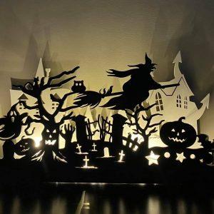 Halloween Scene 1
