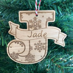 Personalised Initial Decoration